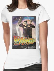 Bakula to the Future Womens Fitted T-Shirt