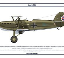 Avia B-534 Slovakia 3 by Claveworks