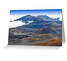 Craters and Cones Greeting Card