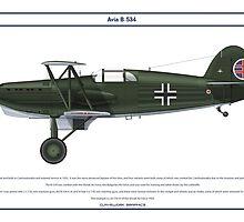 Avia B-534 Slovakia 4 by Claveworks
