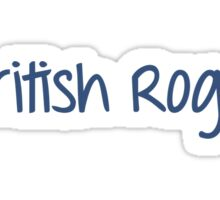 One Direction - British Rogue Sticker