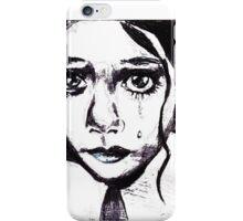 Crying child iPhone Case/Skin