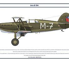 Avia B-534 Slovakia 6 by Claveworks