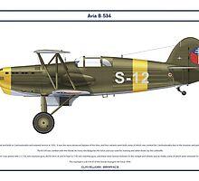 Avia B-534 Slovakia 7 by Claveworks