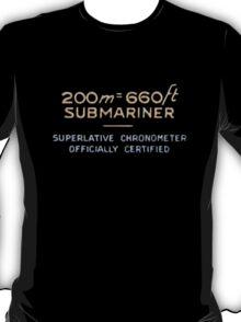 5512 Gilt Underline - Rolex T-Shirt