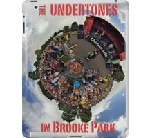 Teenage kicks - The Undertones play Brooke Park iPad Case/Skin