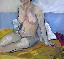 Seated Figure by Paul  Milburn