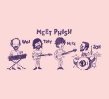 Meet Phish! One Piece - Short Sleeve