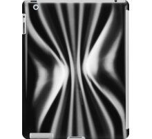 Psychmaster Space Waves 101 BW iPad Case/Skin