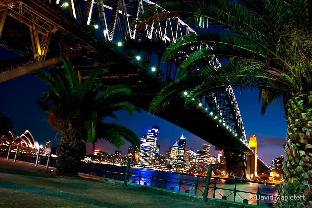 Sydney Harbour Bridge by David Mapletoft