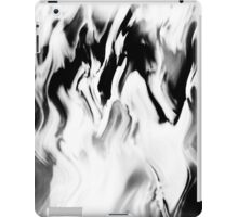 Psychmaster Clean Fire 102 BW iPad Case/Skin