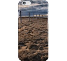 Benone Beach Posts iPhone Case/Skin