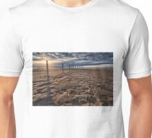 Benone Beach Posts Unisex T-Shirt