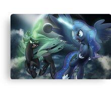 Princess Luna vs Chrysalis Canvas Print