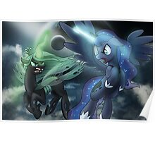 Princess Luna vs Chrysalis Poster
