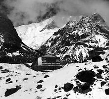 Machhapuchchhre Base Camp - The Himalayas by aidan  moran