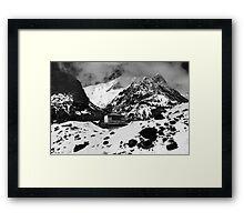 Machhapuchchhre Base Camp - The Himalayas Framed Print