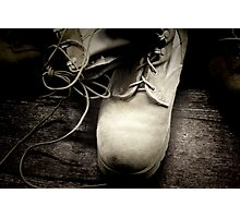 *Boots on the Ground* Photographic Print