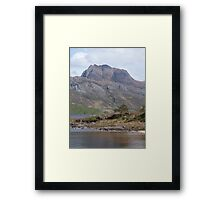Slioch and Loch Maree Framed Print