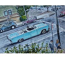 Classic car, San Francisco Photographic Print