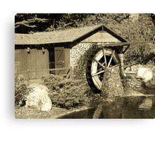 Water Wheel part 2 Canvas Print