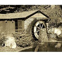Water Wheel part 2 Photographic Print