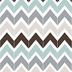 Seaside Chevron by Beth Thompson
