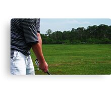 Two Hundred and Fifty Yards Canvas Print