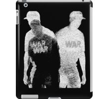 Psychmaster Coping With Trauma X War BW iPad Case/Skin