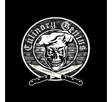 Chef Skull 3.1: Culinary Genius Photographic Print