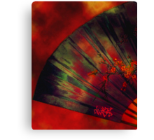 Blood Red Wine  Canvas Print