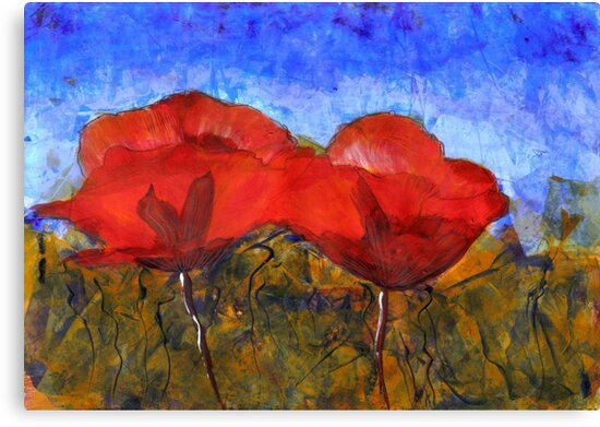 Poppies by Enoeda
