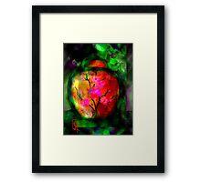 Silk Urn Framed Print