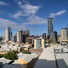 Brisbane - Typical late winters afternoon - HDR by fellPhotography.com .au