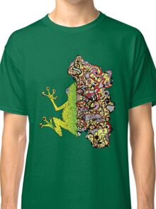 Psychedelly Frog Classic T-Shirt