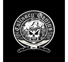 Chef Skull 2: Culinary Genius Photographic Print