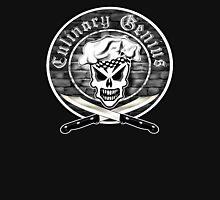 Chef Skull 2: Culinary Genius Unisex T-Shirt