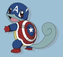 CaptainSquirtle Baby Tee