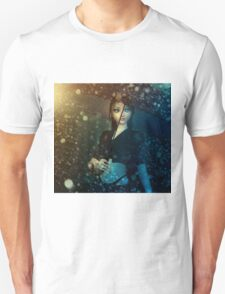 Girl in snowstorm T-Shirt