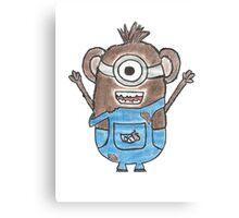 Monkey Minion Canvas Print