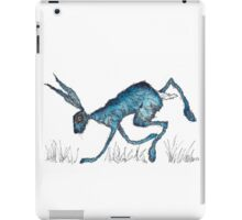 BLUE HARE iPad Case/Skin