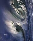 iPad Case.  Winter Waves At Waimea Bay 6. by Alex Preiss