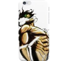 Eren Titan Form iPhone Case/Skin