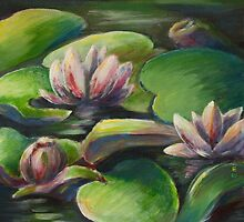 Waterlilies by Ziarel