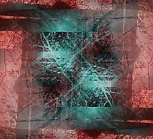 Stamp Act: Abstraction with Texture by Kristin Sharpe