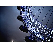 Luminescent London Eye Photographic Print