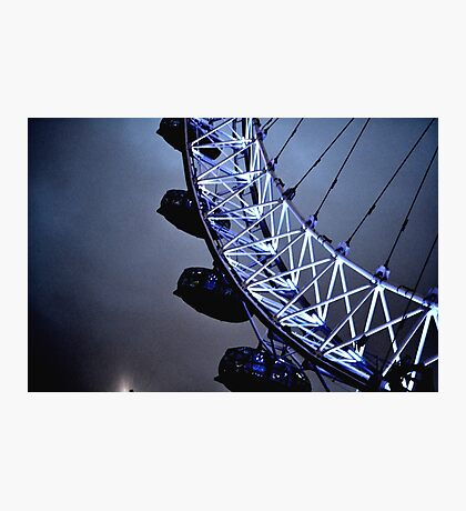 Luminescent London Eye Photographic Print