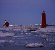 Dancing Lights on the Water by Kathy Russell
