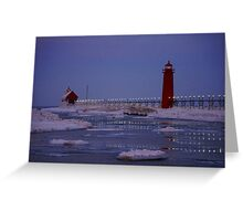 Dancing Lights on the Water Greeting Card