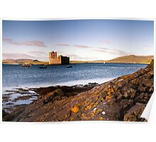 Barra: Kisimul Castle Morning Poster